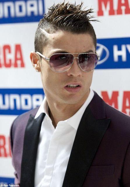 Herren Frisuren Für Kurze Haare Einschließlich Cristiano Ronaldo Haar