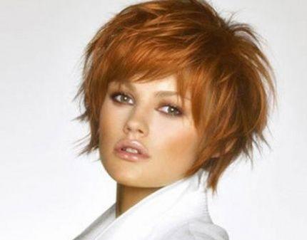 Haarschnitt Mit Pony Für Feines Haar Kurze Haarschnitte Für Dünnes