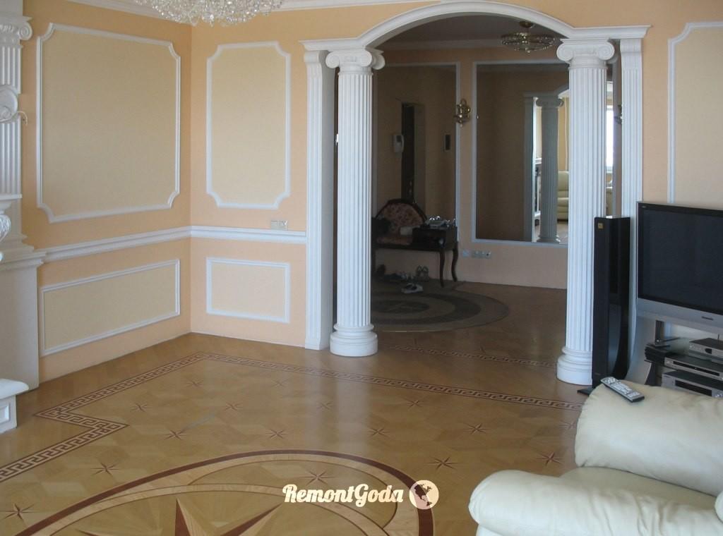 Die Wände Im Raum Optionen. Was Und Wie Die Wände Im Wohnzimmer Gekürzt  Werden   Was Sind Die Merkmale Solcher Räumlichkeiten?