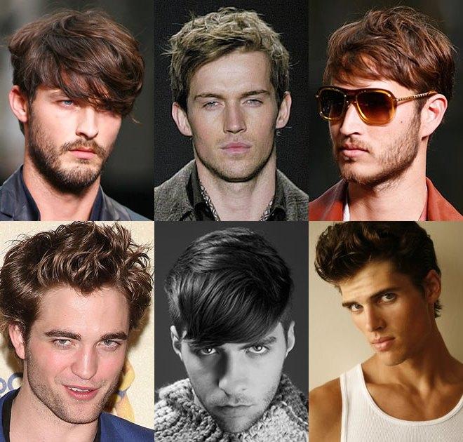 Мужские прически для средних волос фото до и после