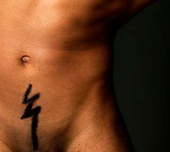мужская интимная стрижка фото