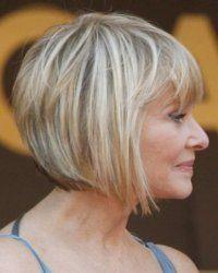 Peinados Cortos De Moda Para Mujer De 50 Anos