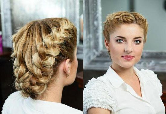 Особенности причесок с применением плетения Технология выполнения  Вечерние прически с плетением на длинные волосы