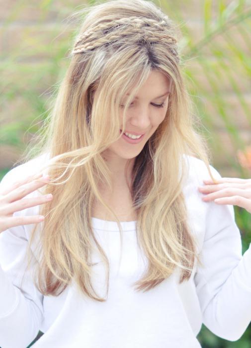 Einfaches Weben Für Langes Haar ährchen Das Häufigste Pigtail