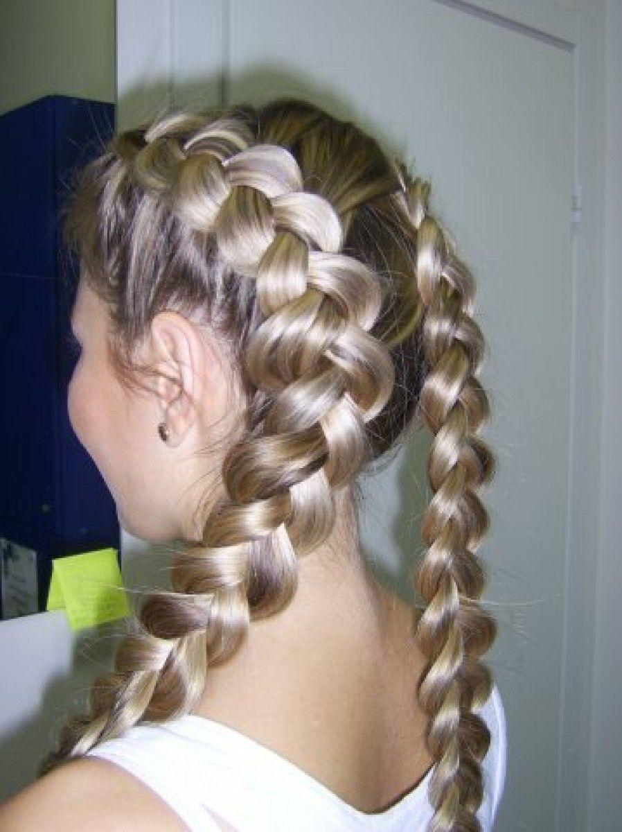 Какие причёски на длинные волосы можно сделать самой себе: несколько интересных вариантов